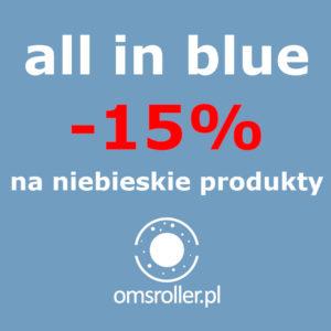 OMS Roller All In Blue rollery w promocji