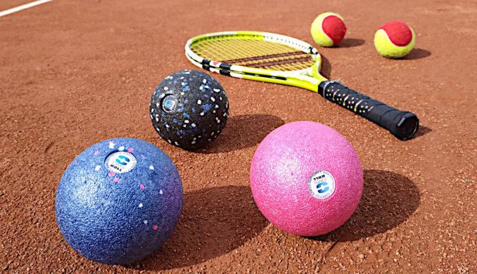 Łokieć tenisisty - leczenie domowe z OMS Roller