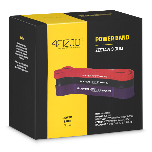 4fizjo power band zestaw