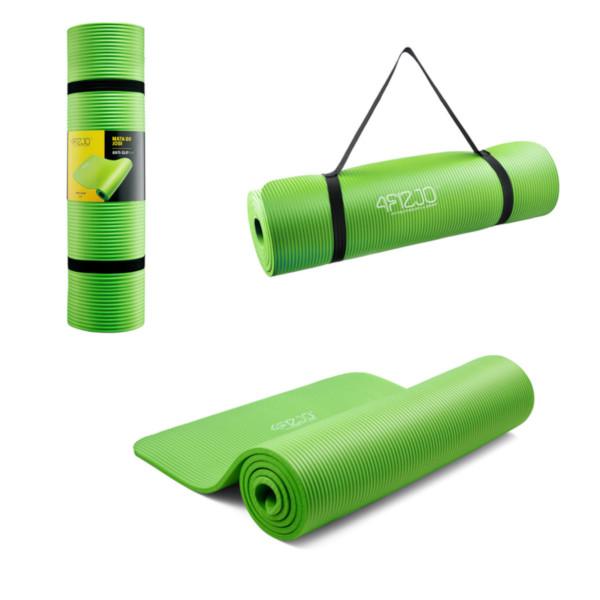 piankowa mata do ćwiczeń 4fizjo zielona