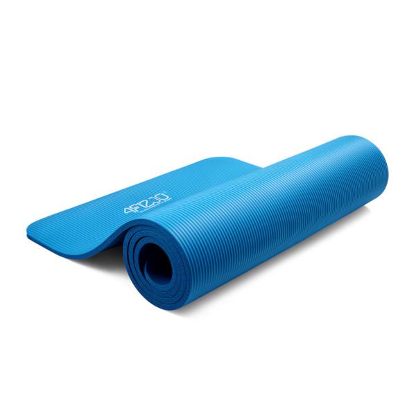 4fizjo mata fitness niebieska