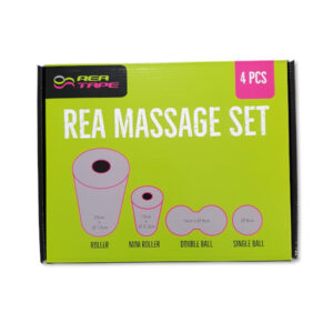rea tape massage set zestaw do rolowania