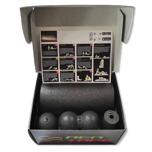 zestaw rollerów do masażu rea tape set