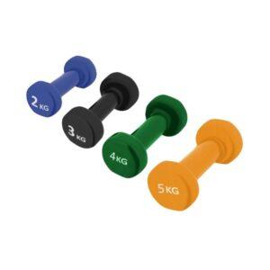 Ciężarki 4FIZJO - hantle żeliwne do ćwiczeń - różne wagi